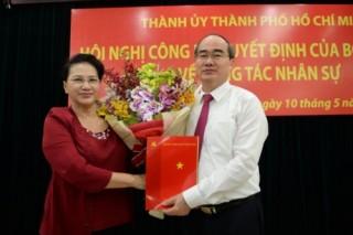 Đồng chí Nguyễn Thiện Nhân làm Bí thư Thành ủy TP.Hồ Chí Minh
