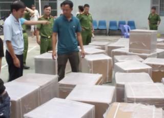 Bắt giữ vụ buôn lậu gần 1 tấn thuốc tân dược giả
