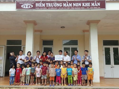 Ngành Ngân hàng Quảng Ninh tiếp tục hỗ trợ xã đặc biệt khó khăn