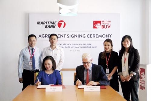 Maritime Bank cho vay ưu đãi với tân sinh viên Đại học Anh Quốc Việt Nam