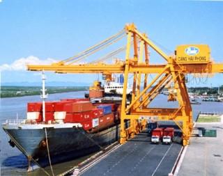 Cân nhắc điều chỉnh phí sử dụng kết cấu hạ tầng cảng Hải Phòng