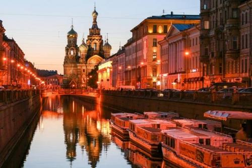 """Đến nước Nga vào mùa """"đêm trắng"""""""