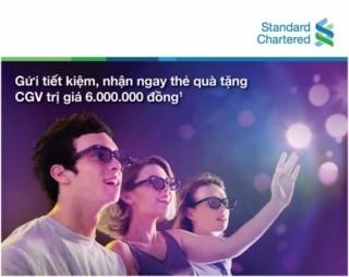 Nhận Thẻ quà tặng CGV khi gửi tiền tại Standard Chartered Việt Nam