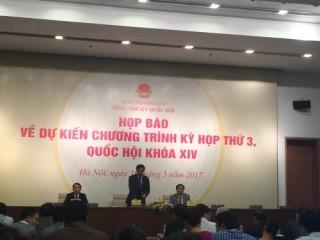 Dự thảo Luật các TCTD (sửa đổi) sẽ trình Quốc hội tại kỳ họp thứ 3
