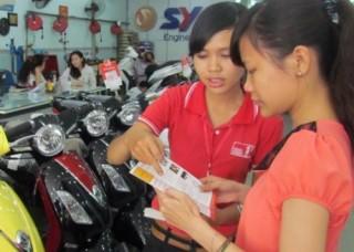 Home Credit cho vay xe máy lãi suất 0%