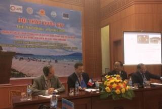Hội thảo các biện pháp bảo vệ bờ biển ở Việt Nam
