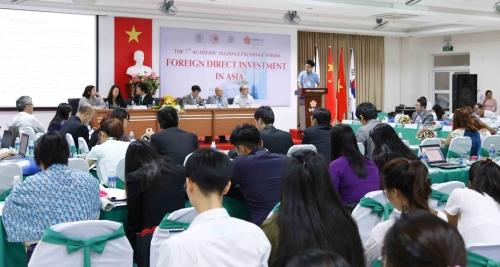 ĐH Đông Á phối hợp tổ chức Hội thảo quốc tế về đầu tư trực tiếp nước ngoài