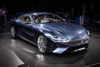 BMW 8 Series Concept chính thức ra mắt