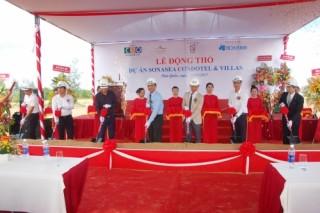 Tập đoàn CEO chính thức động thổ dự án Sonasea Condotel & Villas