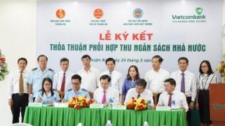 Vietcombank phối hợp thu NSNN trên địa bàn thị xã Thuận An (Bình Dương)