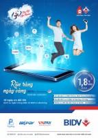Vô vàn các ưu đãi hấp dẫn với BIDV e-Banking