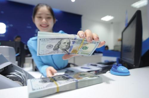 Nhiều ngân hàng tiếp tục tăng giá mua – bán USD