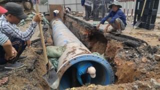 TP. HCM: Ống nước gang Trung Quốc chiếm 53% hệ thống ống cấp nước