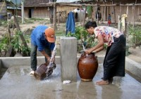 Xây dựng thí điểm 14 mô hình về cấp nước sạch nông thôn tập trung