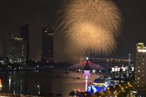 Lễ hội pháo hoa quốc tế Đà Nẵng 2018 chính thức khai mạc