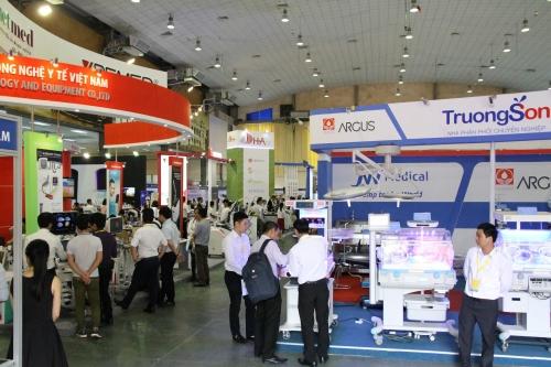 450 doanh nghiệp tham dự Triển lãm quốc tế Y Dược năm 2018