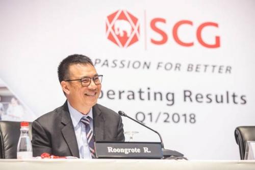 SCG: Doanh thu quý 1/2018 đạt gần 3,8 tỷ USD