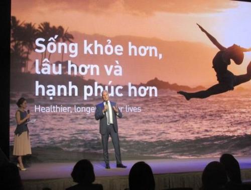 AIA ra mắt sản phẩm giúp người Việt sống khỏe hơn