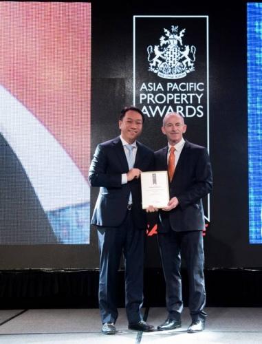 Bất động sản trên không của Sơn Kim nhận giải thưởng quốc tế
