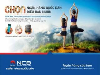 Chọn NCB – Chọn điều bạn muốn