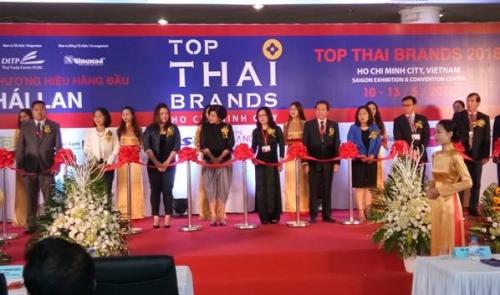 Khai mạc triển lãm sản phẩm Thái Lan ở Việt Nam