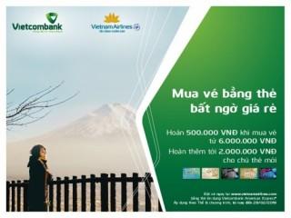 Cơ hội hoàn 100% giá trị giao dịch mua vé trên website của Vietnam Airlines