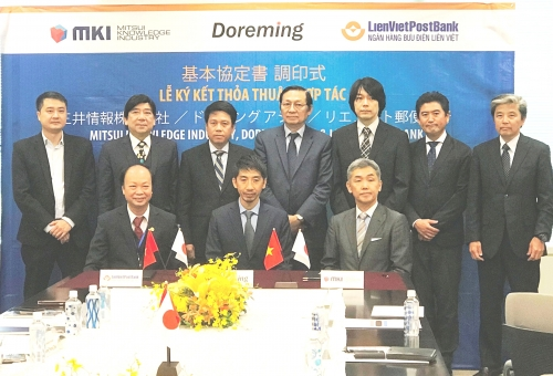 LienVietPostBank ký kết Thoả thuận hợp tác với đối tác Nhật Bản
