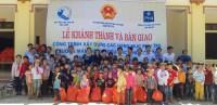 Quỹ từ thiện PNJ xây công trình phụ trợ trường học ở Phú Thọ