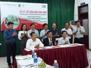 Central Group Việt Nam giúp nông dân tiêu thụ sản phẩm