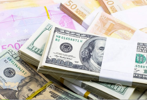 Tỷ giá trung tâm và giá USD ngân hàng đều tăng nhẹ