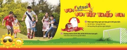 """Vui HDBank Futsal – Vui Tết thiếu nhi"""