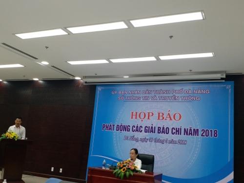 Họp báo phát động Giải báo chí tuyên truyền về TP.Đà Nẵng năm 2018