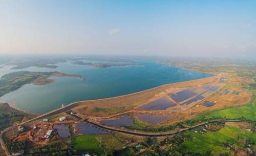 Khánh thành trang trại điện mặt trời do Ngân hàng Indovina tài trợ vốn