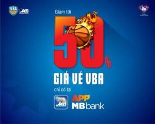 Giảm tới 50% giá vé VBA khi mua qua App MBBank