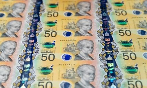 """Tờ 50 đôla của Úc bị """"lỗi đánh máy"""""""