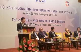 Thượng đỉnh kinh doanh Việt - Mỹ 2019: Thúc đẩy thương mại và đầu tư