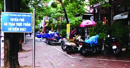 Thí điểm xây dựng tuyến phố ATTP có kiểm soát tại Hà Nội: Quyết tâm triển khai, nhân rộng