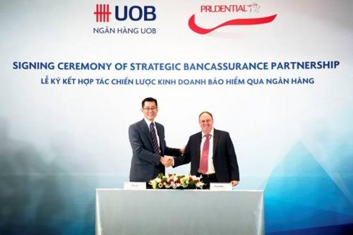 Prudential Việt Nam và Ngân hàng UOB Việt Nam ký thoả thuận hợp tác chiến lược