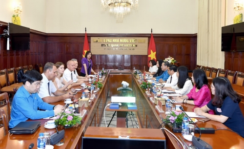 Tăng cường hợp tác giữa Công đoàn Cơ quan NHNN TW với Công đoàn ngành TC-NH Belarus