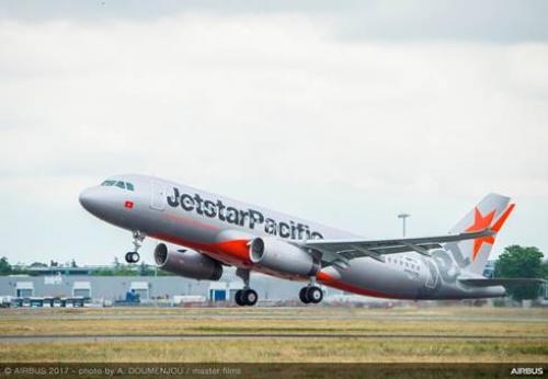 Jetstar Pacific nhận thêm 5 máy bay Airbus A321