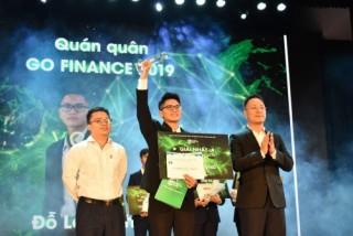 Quán quân Go Finance 2019 đến từ Trường Đại học Kinh tế Quốc dân