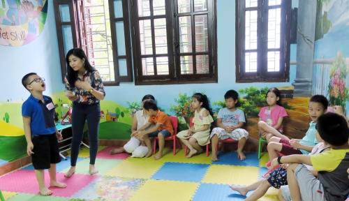 Nhồi kỹ năng cho trẻ