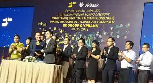 Be và VPBank tạo hệ sinh thái tài chính công nghệ