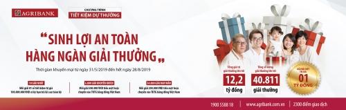 Gửi tiền tại Agribank để có cơ hội trở thành tỷ phú