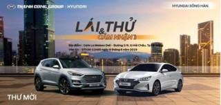 Hyundai Sông Hàn tổ chức lái thử Elantra và Tucson 2019