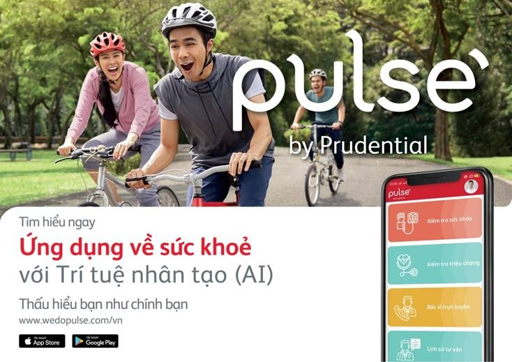 ra mat ung dung cham soc suc khoe pulse by prudential