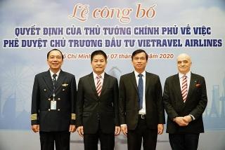 Tổ chức công bố quyết định phê duyệt chủ trương đầu tư Vietravel Airlines