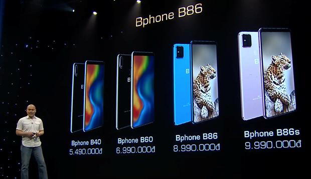 Bphone B86 chính thức ra mắt với mức giá