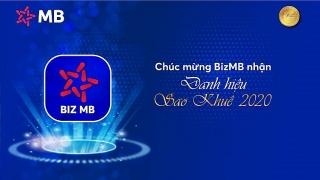BizMB - nền tảng số kết nối doanh nghiệp nhận danh hiệu Sao Khuê 2020