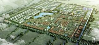 Long An: Khởi công khu công nghiệp và đô thị kiểu mới